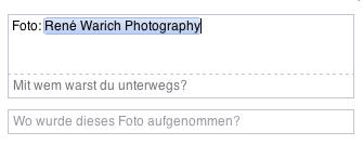 Facebook-Verlinkung