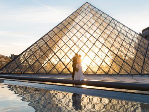 Hochzeitsbilder in Paris