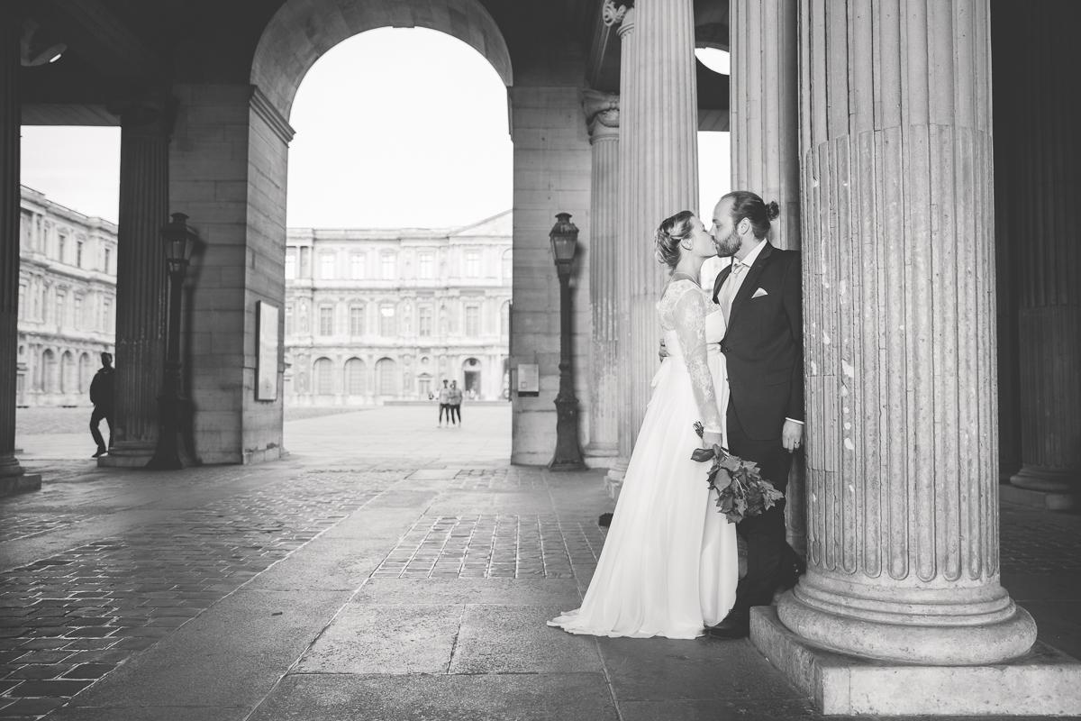 Brautpaarshooting in Paris