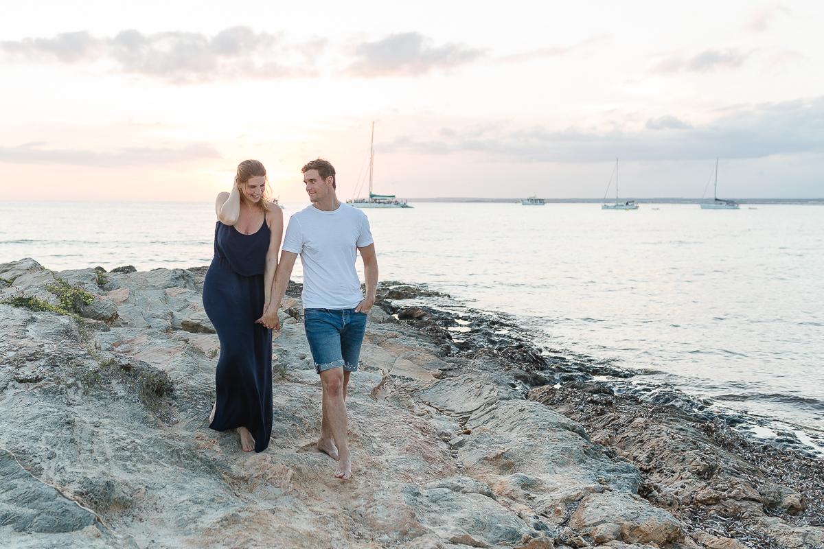 Engagementshooting auf Mallorca