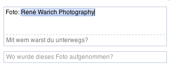 Facebook-Verlinkung