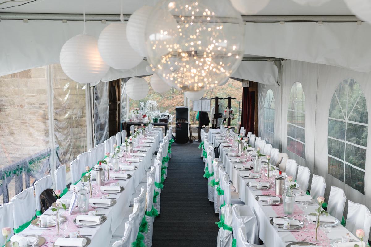 Hochzeitsfeier Burg Blankenstein