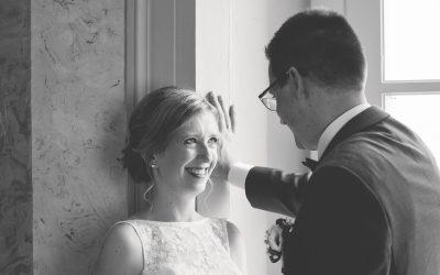 Der richtige Moment fürs Brautpaarshooting