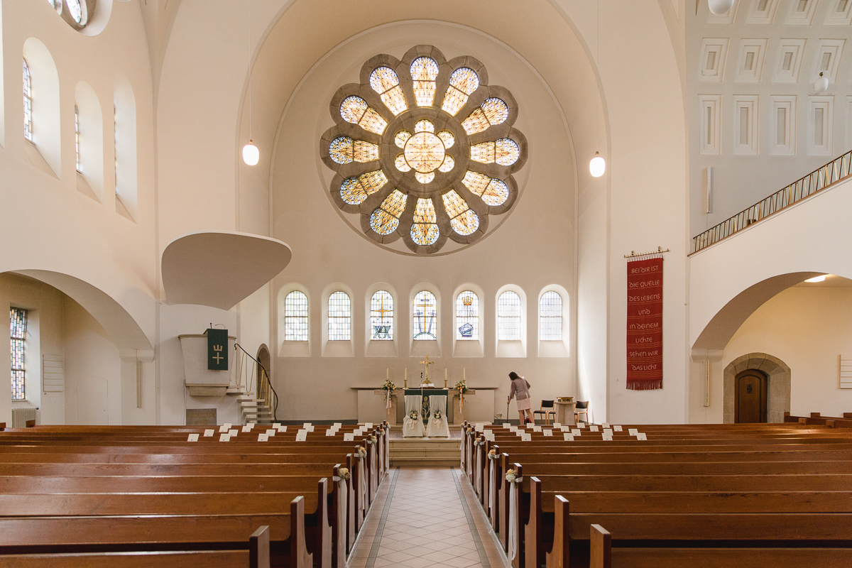 Hochzeit Lutherkirche Heidt Wuppertal