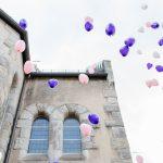 Luftballons richtig steigen lassen