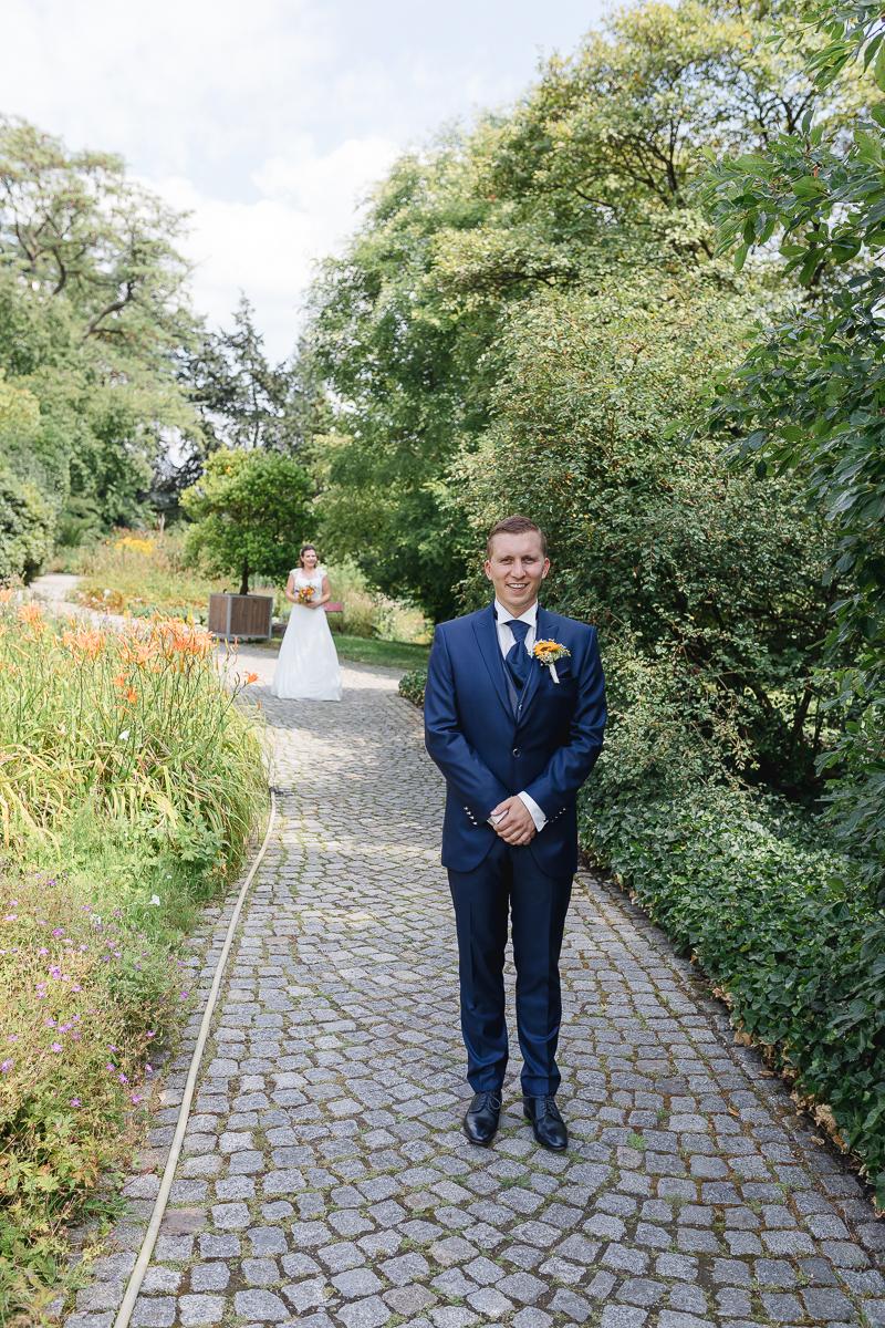 Hochzeitsfotos Botanischer Garten Wuppertal